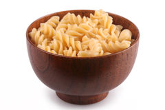 Bowl of Rotini Stock Images