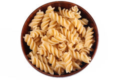 Bowl of Rotini Royalty Free Stock Photos