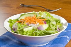 Bowl of Salad Stock Photos