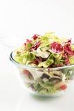 Bowl of salad greens Stock Image