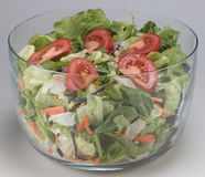 Bowl of salad mix Royalty Free Stock Photography