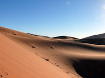 Bowl of Sand in Moroccan Sahara Royalty Free Stock Image