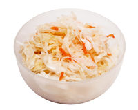 Bowl of sauerkraut Stock Photography