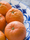 Bowl Of Seville Oranges Stock Photography