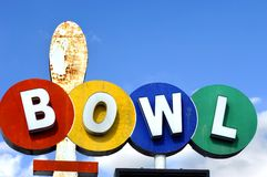 Bowl Sign stock images