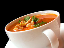 Bowl of soup Royalty Free Stock Photography