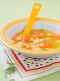 Soup for baby Royalty Free Stock Images
