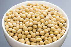 A bowl of soy bean Royalty Free Stock Images