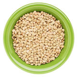 Bowl of soybeans Royalty Free Stock Photography