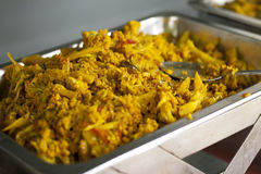 Bowl of spicy Indian dal curry Stock Images