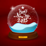 Bowl statuette with new year Stock Photography