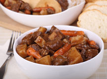 Bowl of Stew Royalty Free Stock Images