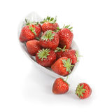 Bowl with Strawberries Royalty Free Stock Photography