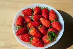 Bowl with strawberries. Royalty Free Stock Photo