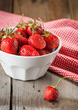 A bowl of strawberries Royalty Free Stock Image