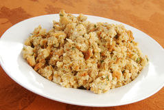 Bowl of stuffing royalty free stock photography