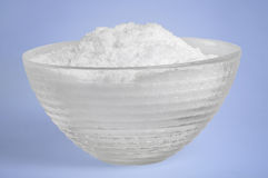 Bowl with sugar Stock Photos