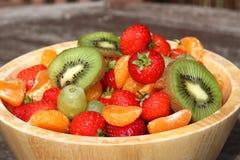 Bowl of Summer Fruits Royalty Free Stock Image