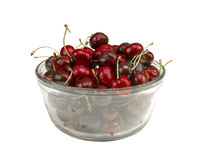 Bowl of sweet fresh Cherries Stock Image
