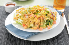 Bowl of taco salad Stock Photography