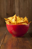 Bowl of tacos Royalty Free Stock Images