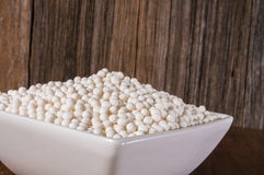 Bowl of tapioca, Stock Image