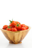 Bowl of Tomatoes Stock Image