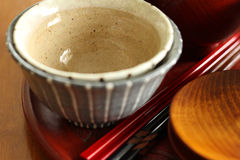 Bowl of two servings Royalty Free Stock Photos