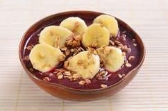 Açaí bowl Royalty Free Stock Photography