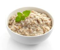Bowl of various flakes porridge Stock Photography