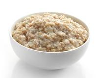 Bowl of various flakes porridge Stock Photos