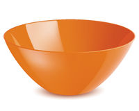 Bowl . Vector illustration Royalty Free Stock Photography