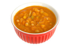 Bowl of Vegetable Soup Stock Photography