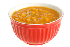 Bowl of Vegetable Soup Stock Images