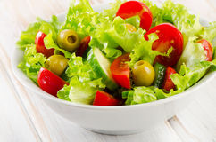 Bowl of   vegetables salad Stock Image