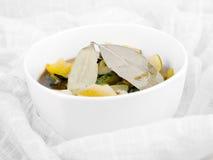 Bowl of vegetarian soup Royalty Free Stock Photo