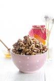 Bowl with walnut, still life Royalty Free Stock Photography