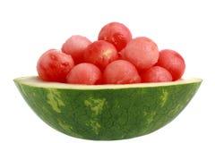 Bowl of watermelon Stock Photo