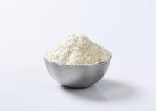 Bowl of wheat flour Royalty Free Stock Photos