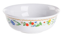 Bowl on the white background Stock Photography