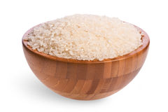 Bowl of White Rice Royalty Free Stock Photo