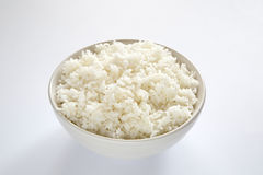 A bowl of white rice Royalty Free Stock Images