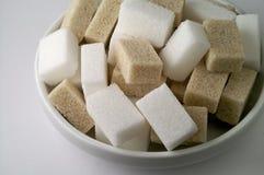 Free Bowl Wit White And Brown Sugar Stock Image - 2280561