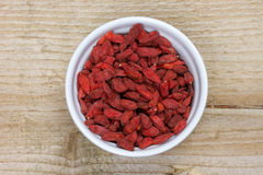 Free Bowl With Goji Berries Stock Images - 35132704