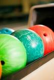 bowla för bollar Arkivfoton