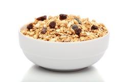 bowla frukostgranola Royaltyfri Bild
