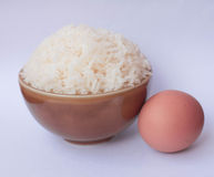 bowla rice Arkivfoton