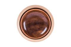 bowla trä royaltyfri bild