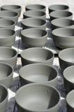 bowlar krukmakeri Fotografering för Bildbyråer