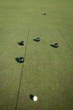 bowlar lawn Arkivbild
